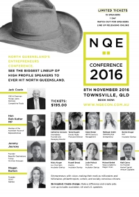 1 Week Until The Inaugural North Queensland Entrepreneurs Conference